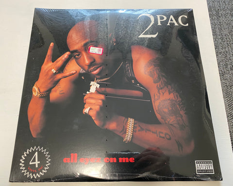 LP 2 PAC - ALL EYEZ ON ME DEATH ROW RECORDS