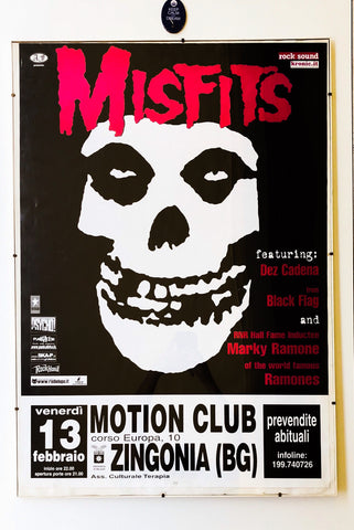 Poster Misfits 2001 Emotion Italy