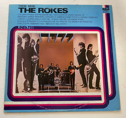 LP THE ROKES RCA NL 33037 ITALIAN BEAT
