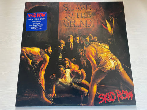 LP SKID ROW SLAVE TO THE GRIND ANNO 1991 ATLANTIC
