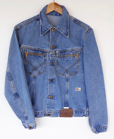 Roy Rogers Vintage 70' Denim Jacket Tg 28/36 NEW