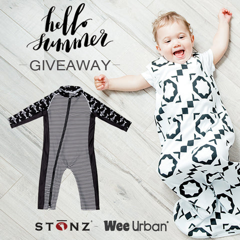 Wee Urban and Stonz Summer Giveaway