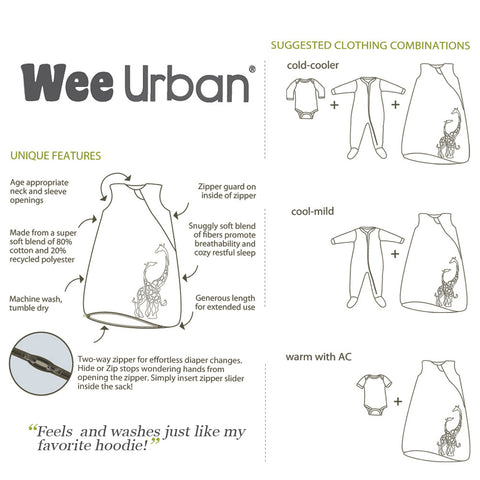 Wee Urban Suggestions for clothing