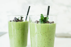 Post-Workout Choco-Mint Smoothie