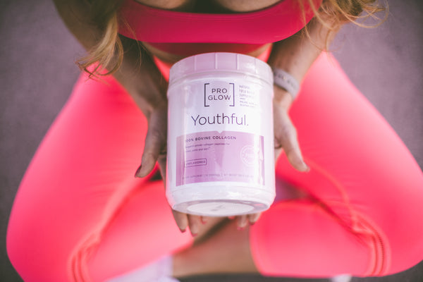 ProGlow Protein, Youthful, Lean Gains and Flawless.