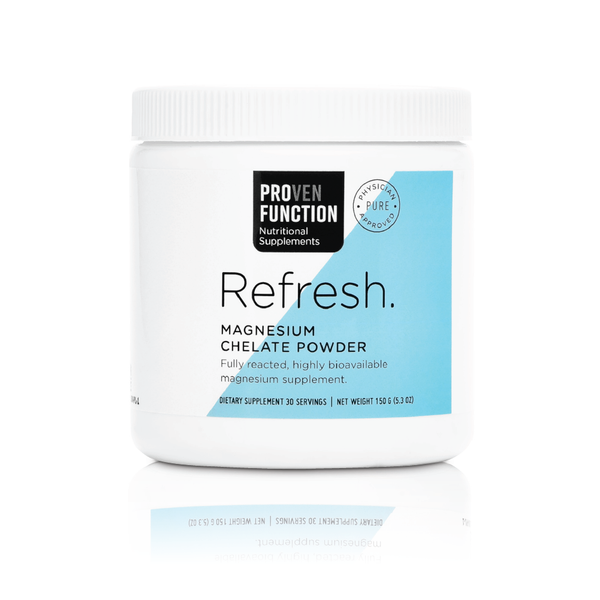 Refresh. – Magnesium Supplement.