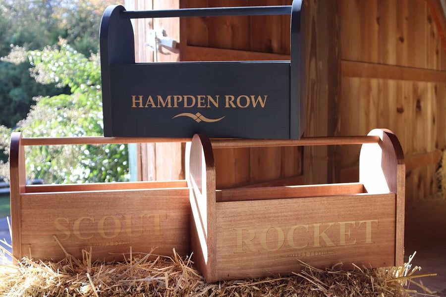 Personalized Wood Grooming Box