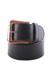 CRUELTY FREE BELT JET/ROSE GOLD