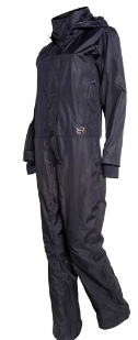 Waterproof Rain Gear - Pure Black