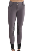 AUBRIE PRO MERYL® KNEE PATCH BREECH- GREY