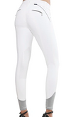 AUBRIE PRO MERYL® KNEE PATCH BREECH- WHITE