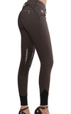 AUBRIE PRO MERYL® KNEE PATCH BREECH- MOCHA