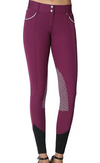 ELARA KNEE PATCH BREECH- PLUM