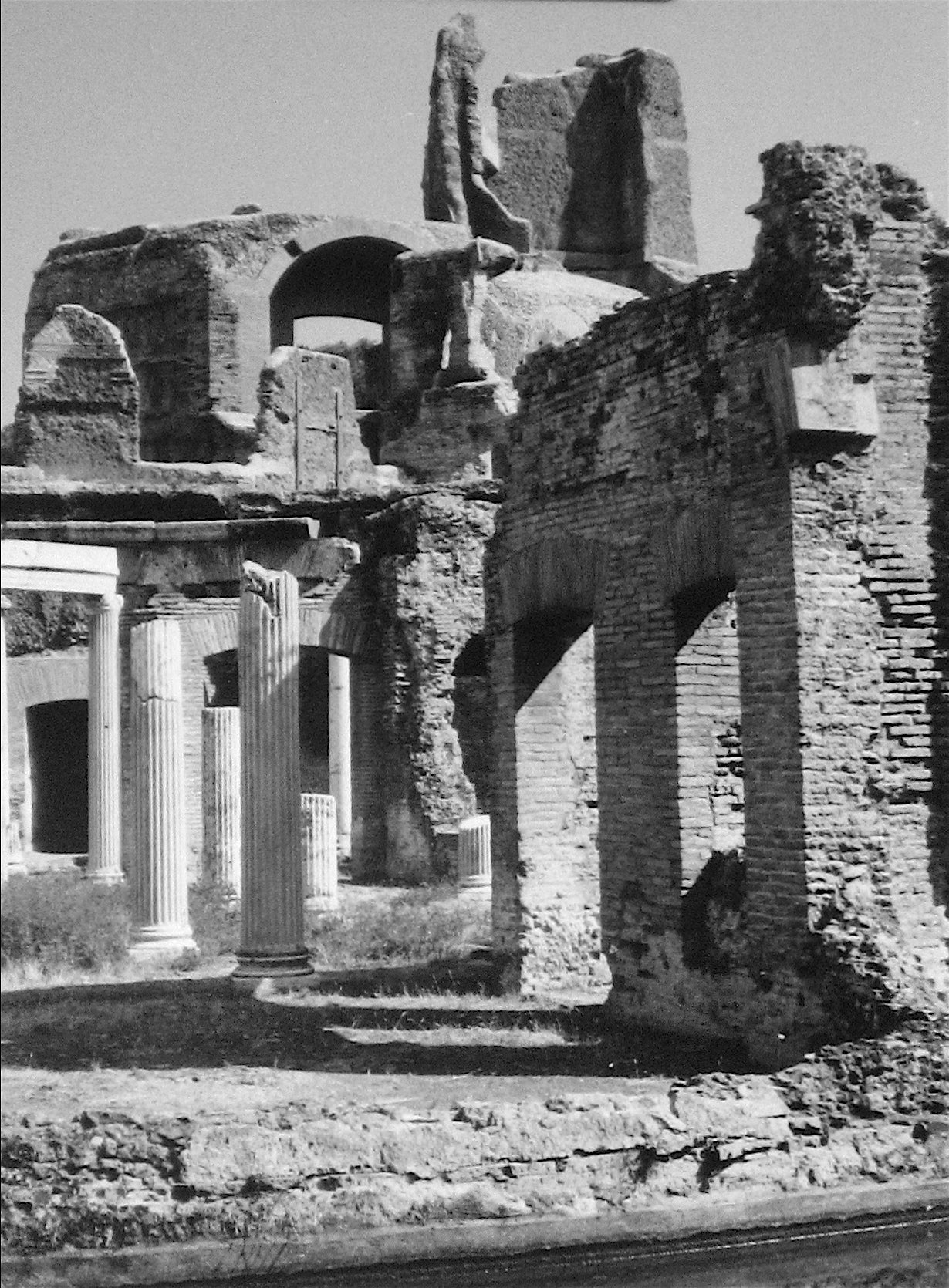 Ruins in Greece<br>1960s Silver Gelatin Print<br><br>#12099