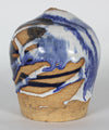 Blue, White & Tan Glazed Ceramic, 1971 <br><br>#12982