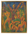 <i>Allegory</i><br>1947 Oil<br><br>#13937