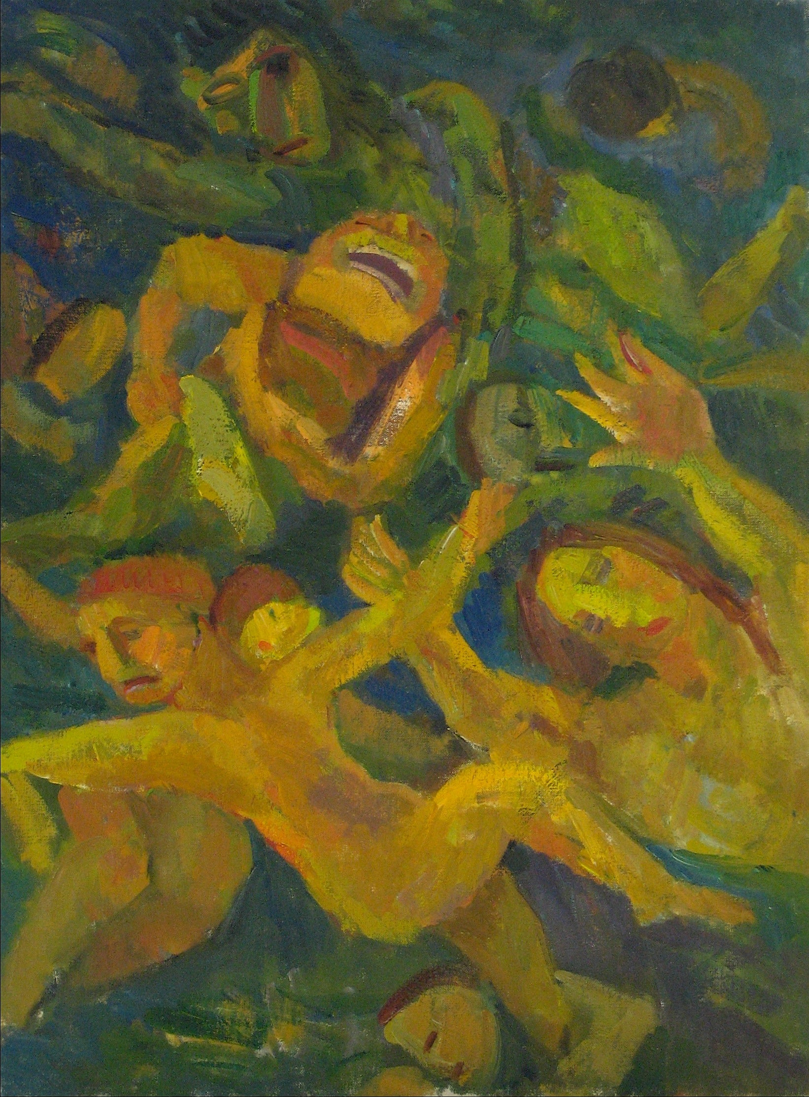 <i>Swimmers</i><br>1951 Oil<br><br>#13958