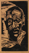 <i>Congolese</i><br>1970 Woodcut on Paper<br><br>#2170