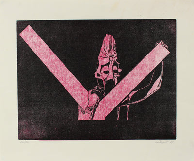 Woodcut in Red & Black<br>1969<br><br>#2207