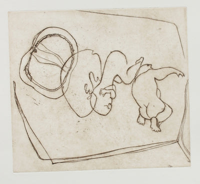 Infancy in the Abstract<br>1960-70s Etching<br><br>#2246