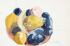 Fruitbowl Still Life<br>Late 20th Century Watercolor<br><br>#22646