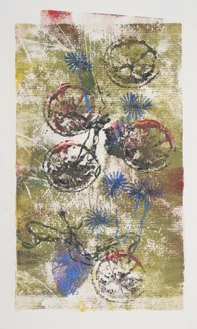 <i>Roundelay</i><br>1964 Monotype<br><br>#71309