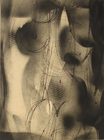 <i>Figure</i><br>1965 Airbrushed Abstract<br><br>#13533