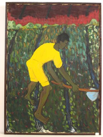 <i>Campesino, The Country Farmer</i><br>Oil, 1940-70s<br><br>#4826