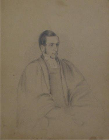 james ramsay 1800s graphite on paper