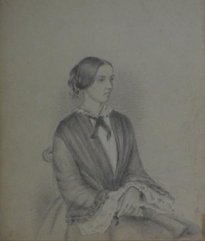 Detailed Study of a Married Woman<br>Early-Mid 1800s<br><br>#10100