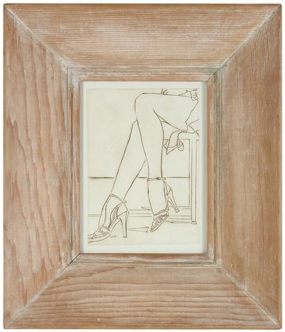 Figurative Etching<br>1960-70s<br><br>#2164D