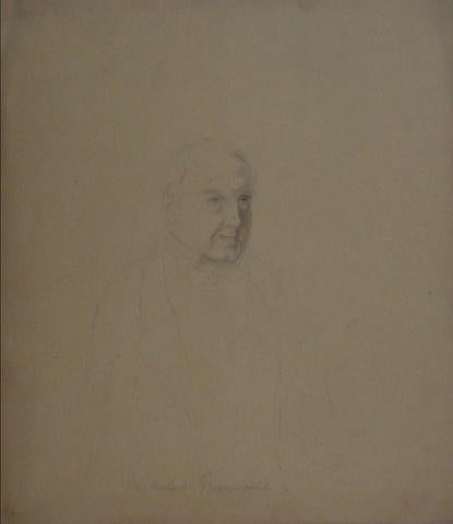 Face Study - Nicholas Greenwell<br>Early-Mid 1800s<br><br>#10103