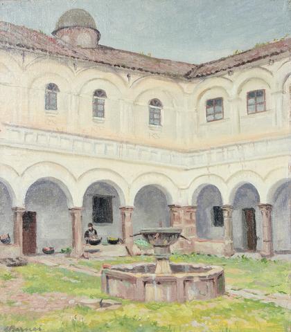 <i>Convento de San Francisco</i><br>1936-53 Oil<br><br>#93444
