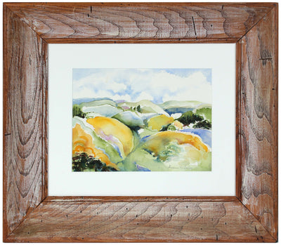 <i>Pacifica Hills, CA</i>, Watercolor<br>Late 20th - Early 21st Century<br><br>#43880