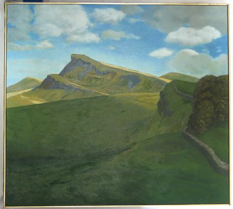 <i>Hadrian's Wall - Northumberland</i><br>Oil, 1972<br><br>#15860