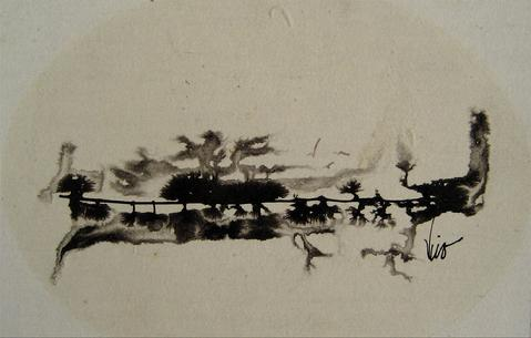 <i>To Jim</i><br>1960s Monderinst Ink Wash<br><br>#16226