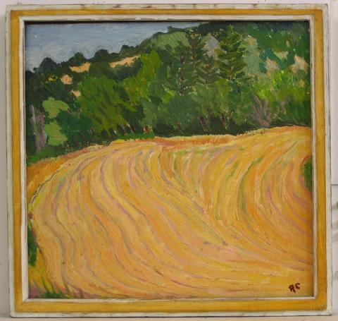 Golden Country Road<br>Mid Century Oil<br><br>#4937