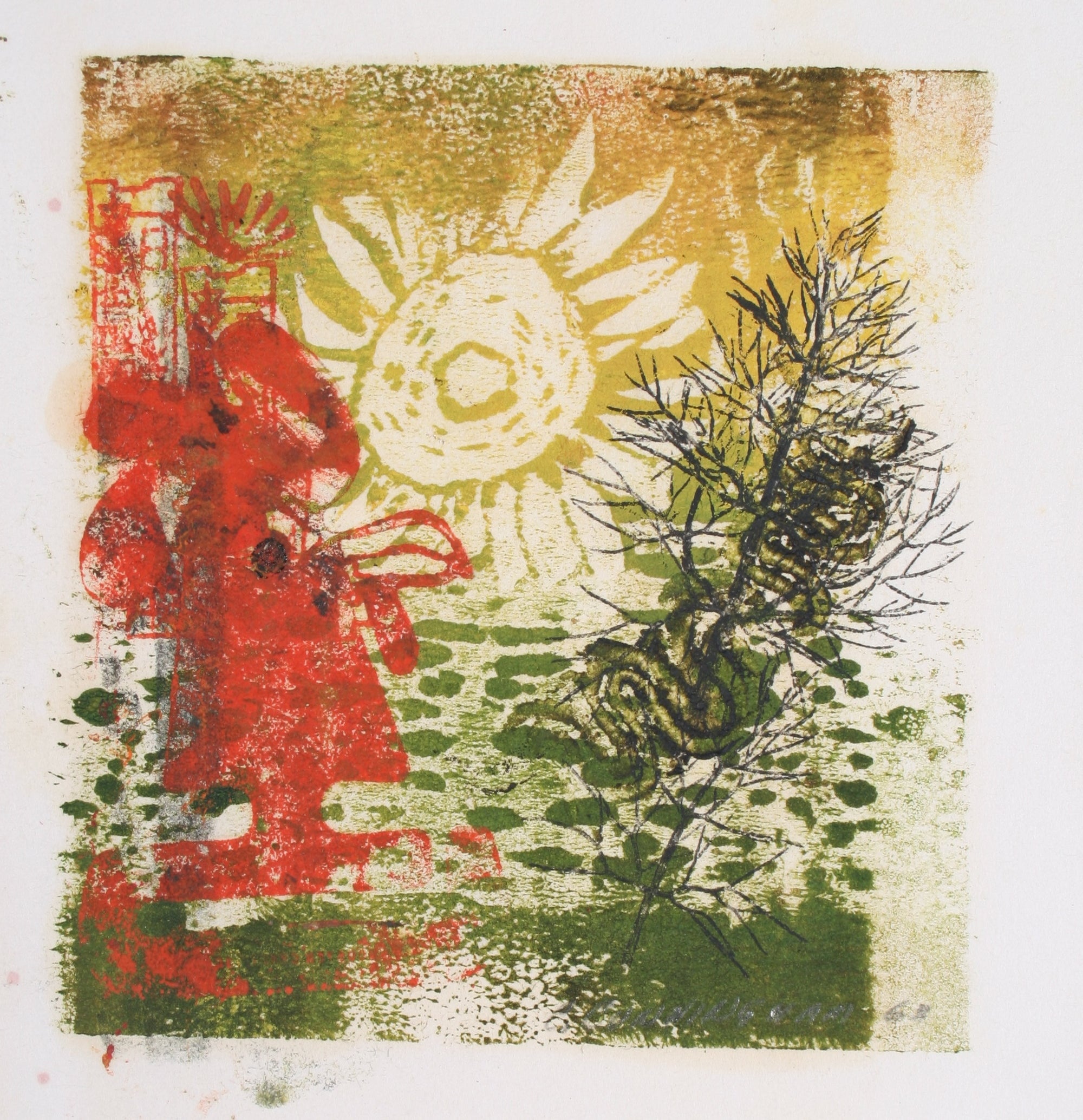 <i>Sun Up</i><br>1963 Monotype<br><br>#71313