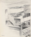 Vintage Modernist Beach-Front Home <br>20th Century Ink <br><br>#91452