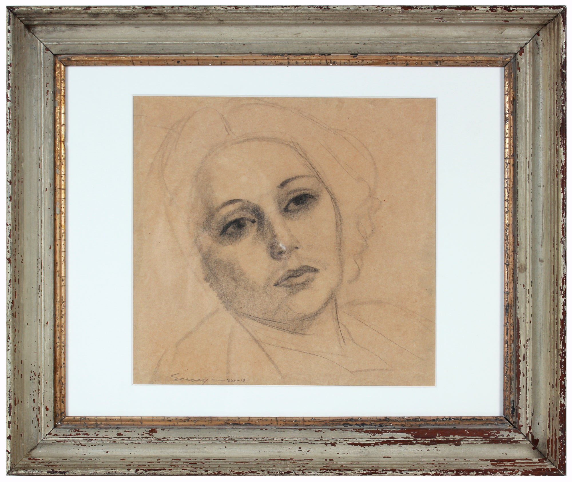 Portrait of Adele <br>1920-30s Graphite <br><br>#9481