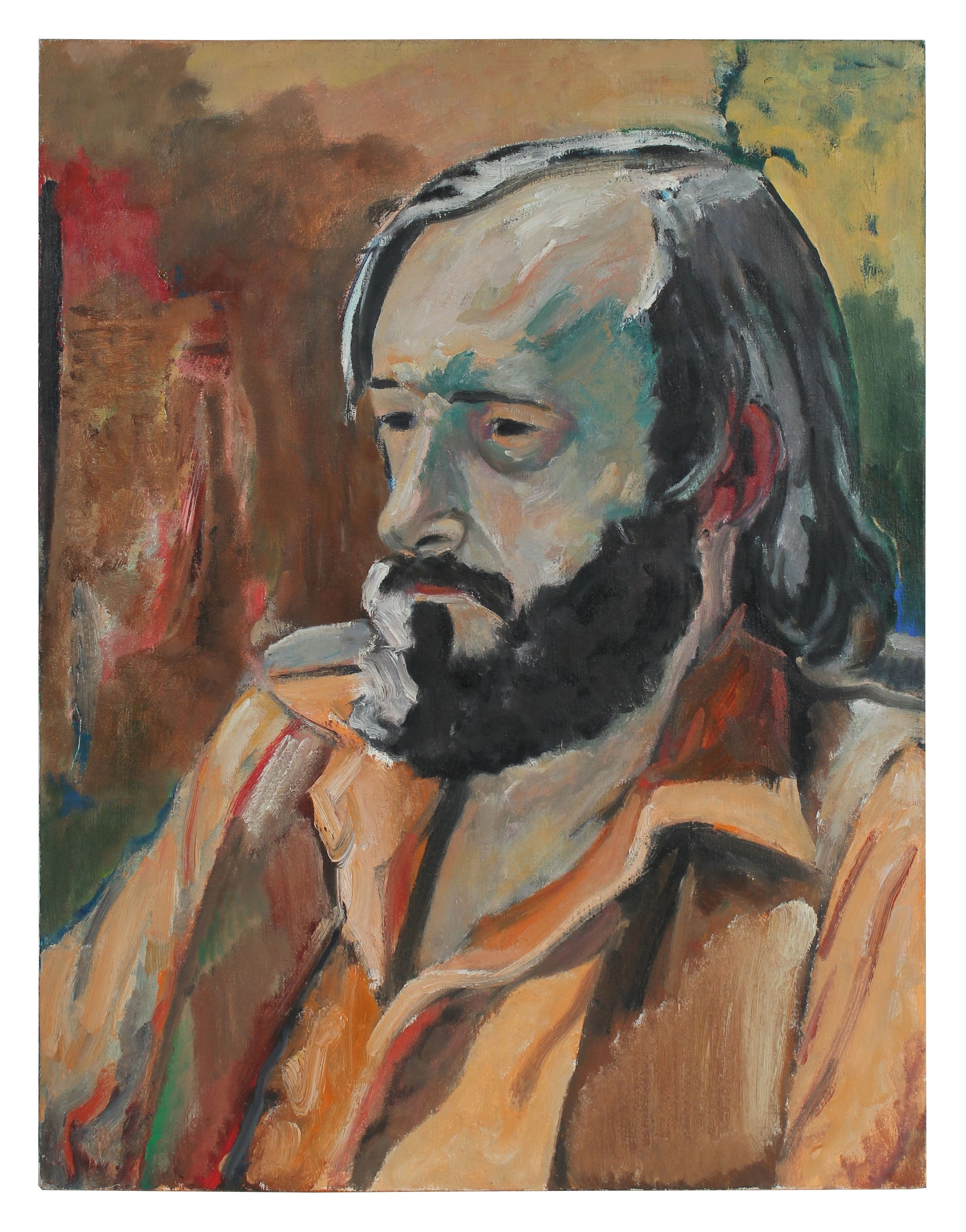 <i>A.M.Tuggle</i> <br>1972 Oil Portrait <br><br>#96802