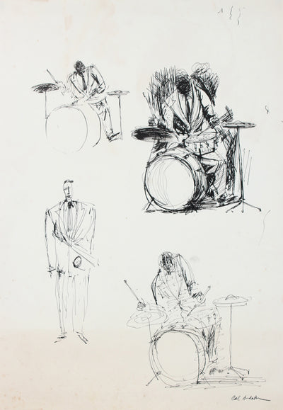 Studies of the Band <br>Mid Century Ink <br><br>#97511
