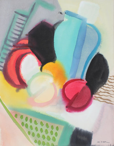 Abstracted Still Life with Fruit<br>1942 Gouache<br><br>#97543