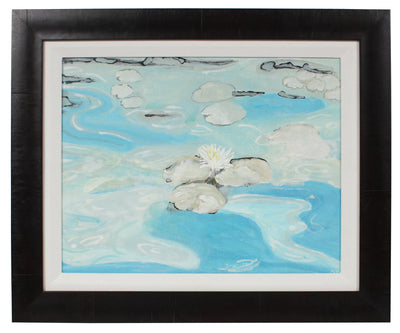 <i>Water-lily Pond</i><br>2017 Gouache<br><br>#97817