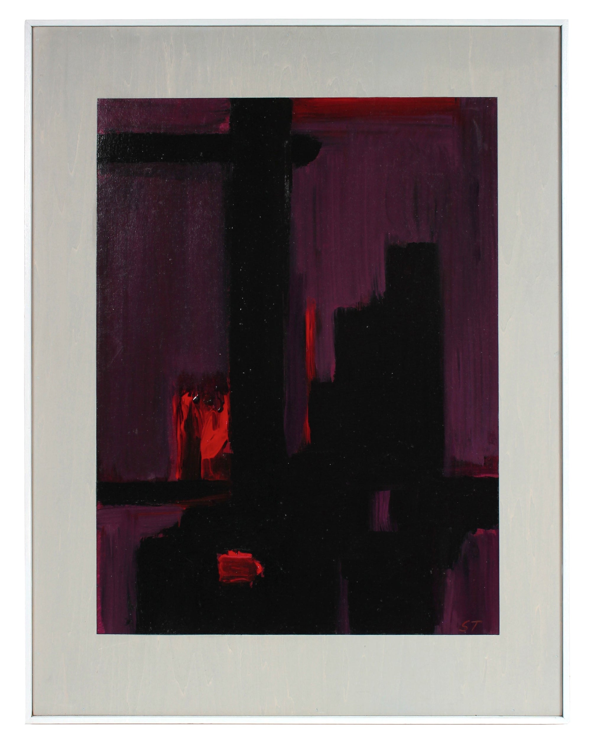 <i>Afterglow 3</i> <br>Late 20th Century Oil <br><br>#99192