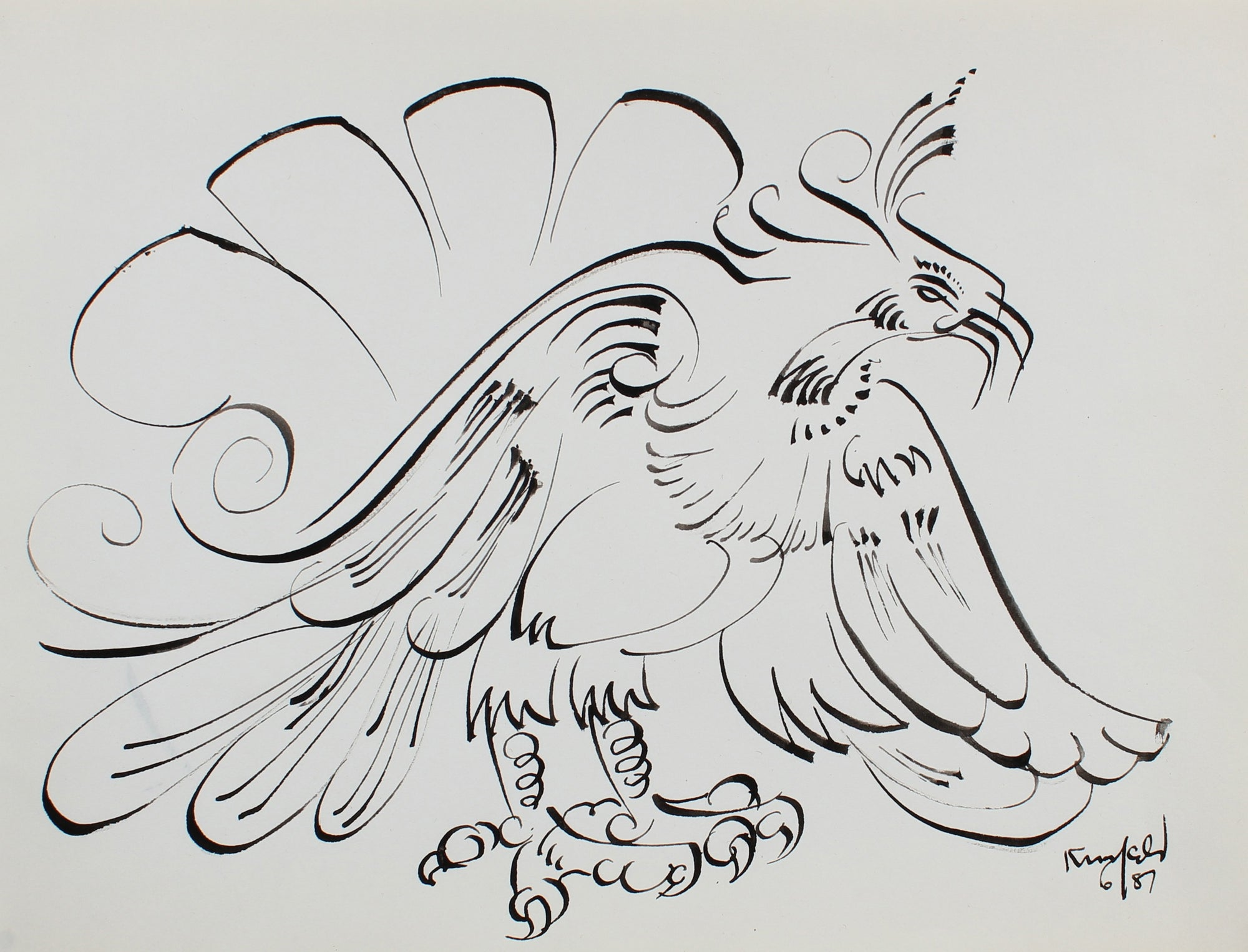 Regal Rooster <br>1987 Ink <br><br>#99476