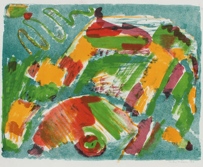 Colorful Organic Forms<br>1953 Lithograph<br><br>#99800