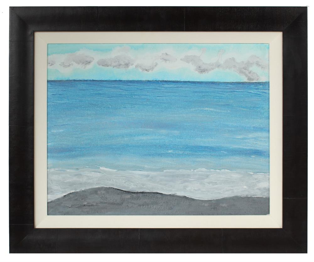 <i>Kahena</i>, Hawaii<br>2018 Mixed Media Seascape<br><br>#A0854
