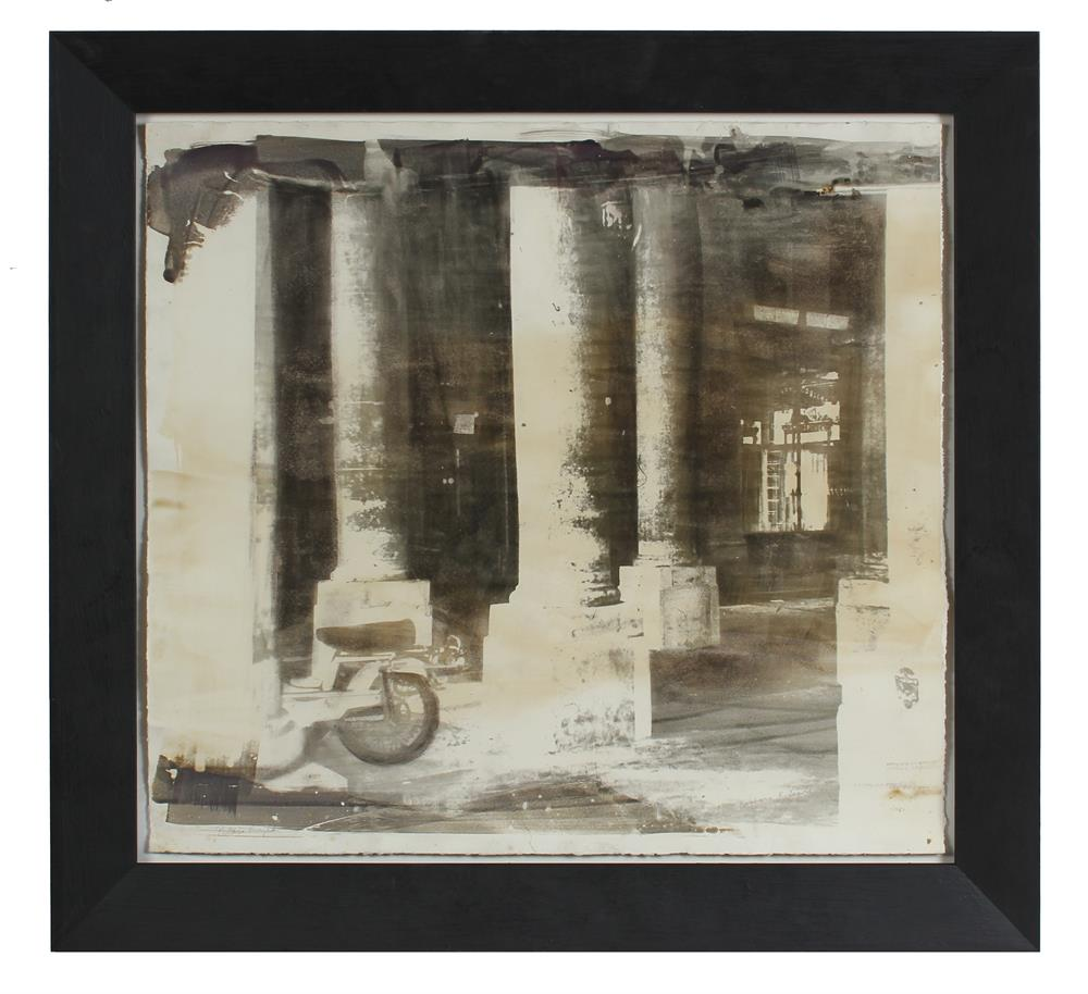 <i>Palais Royal</i><br>1970s Photoemulsion<br><br>#A1028