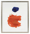 <i>Deep Coral Gesture</i><br>2018 Gouache<br><br>#A2124